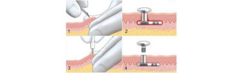 Body Piercing Dermal Anchor